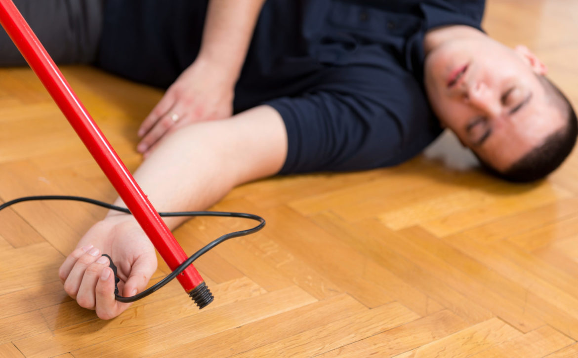 First Aid Training - Electric shock