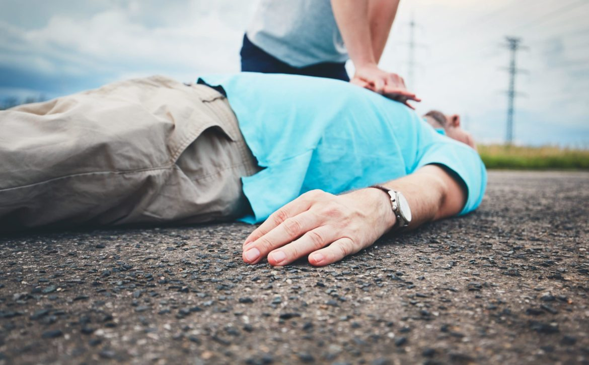 Resuscitation on the road